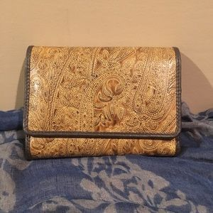 Tooled Leather Relic Wallet